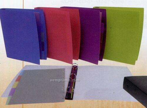 """Purple Ez Comfort 2"""" Ring Binder"""
