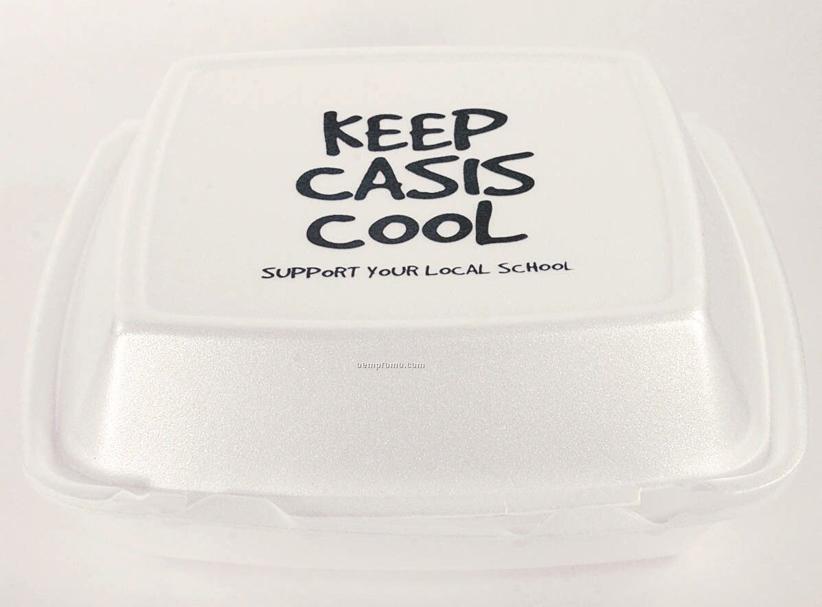 1 Compartment Carryout Foam Container/ Medium (Express Line)