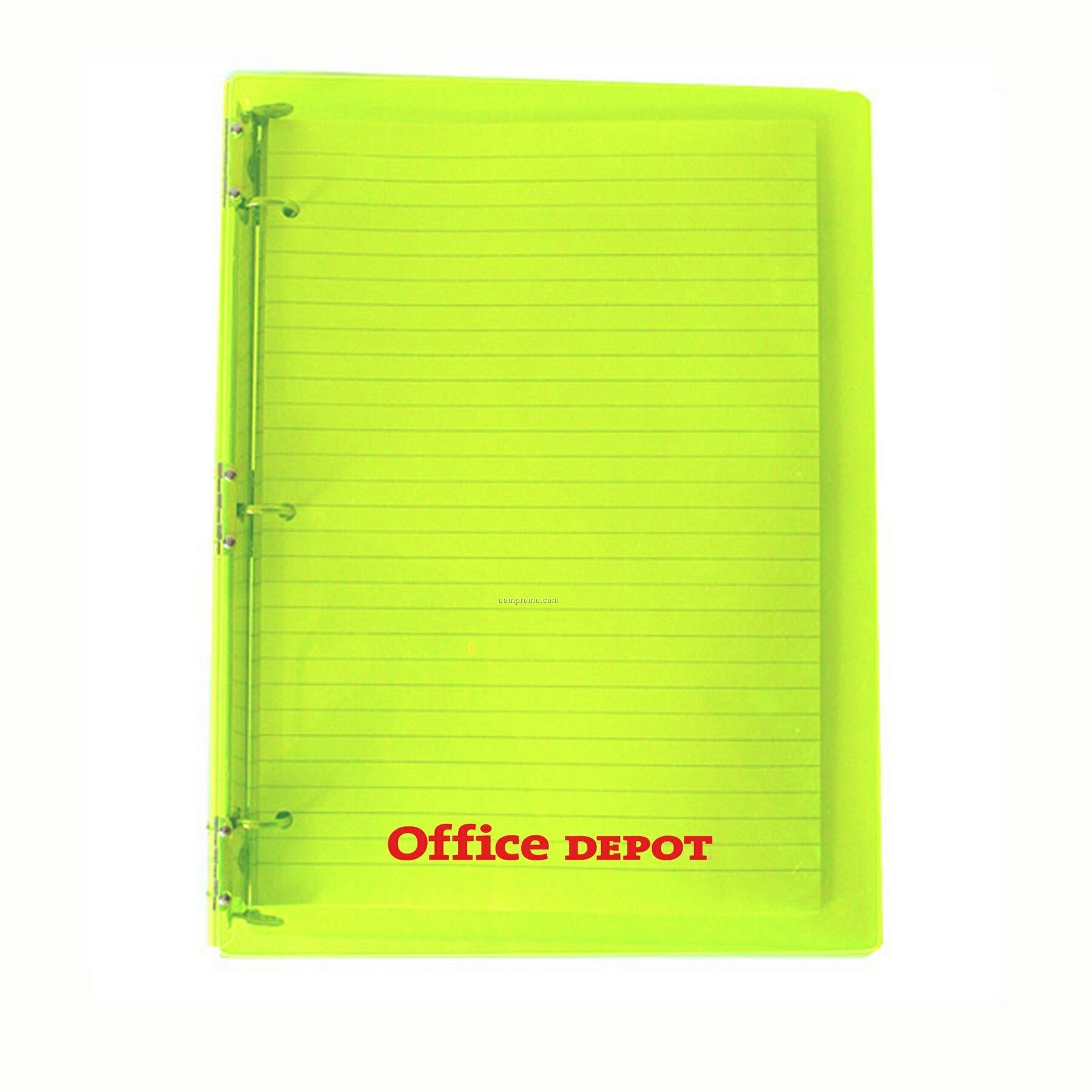 Product description delivery information quantity calculator related - Large Acrylic 3 Ring Notebook China Wholesale Large