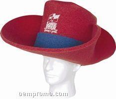 Foam Cowboy Hat Large - 30 Gallon