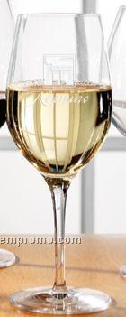 13 1/2 Oz. Europa White Wine Glass (Set Of 2 - Light Etch)