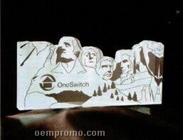 Acrylic Paperweight Up To 16 Square Inches / Mount Rushmore