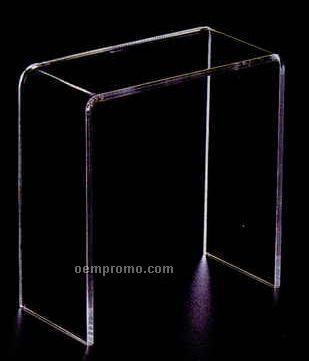 """Narrow Acrylic Countertop Riser (7""""X3.5""""X7"""")"""