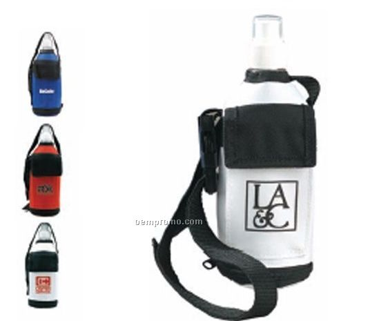 Kangaroo Water Bottle Tote With Pocket