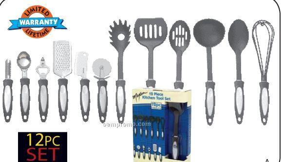 Maxam 12 PC Kitchen Tool Set