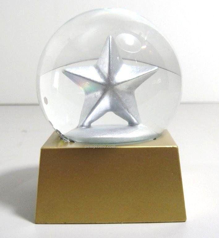 Stock Star Snow Globe