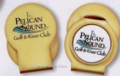 Custom Slider Hat Clip W/ Ball Marker