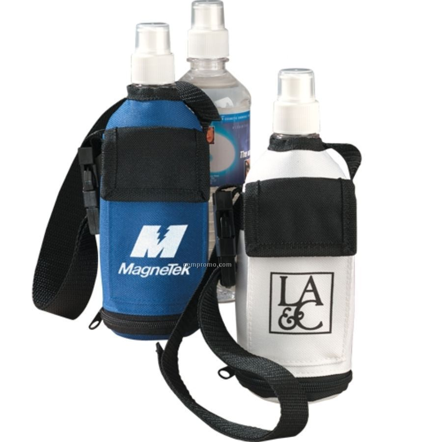 Mirage Water Bottle Tote With Bottled Water