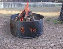 Big Sky Wildlife Fire Ring - Landmann Usa