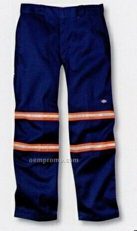 Double Knees Work Pant W/ Scotchlite Reflective Tape