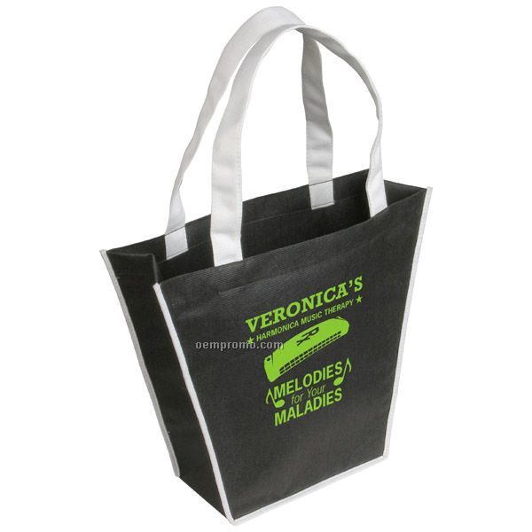 Tapered Recycled P.e.t. Tote Bag