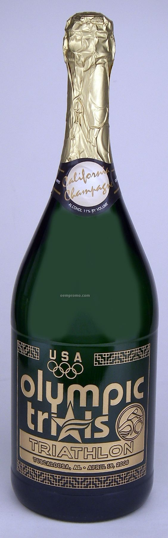 1.5l Magnum California Champagne (Sparkling Wine) Etched With 2 Color Fills
