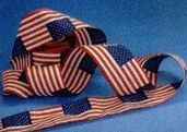 "Flag Pattern Bunting Streamer (4""X21')"