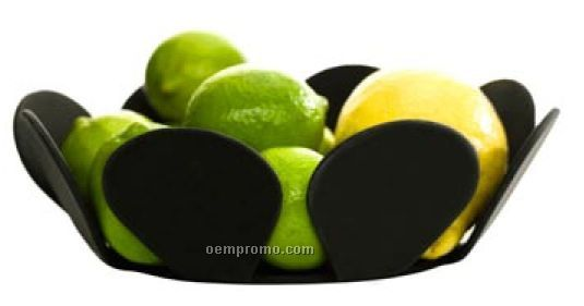 Food Prep Black Silicone Bowl/Trivet