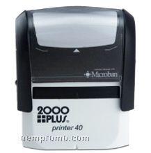 "2000plus Rectangle Self-inking Stamp (2 3/8""X7/8"")"
