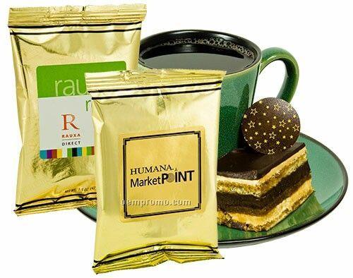 Full Pot Coffee - Mug Stuffer W/ Gold Foil Packaging (Printed Label)