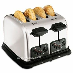 Hamilton Beach 4 Slice, Chrome Toaster