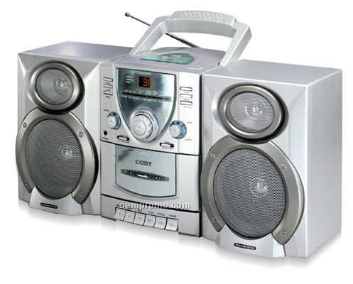 Mini Hi-fi CD/Stereo Cassette Player/Recorder With AM/FM Tuner