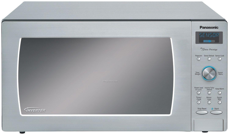 Panasonic Genius Prestige Countertop 1 6 Cubic Feet Microwave