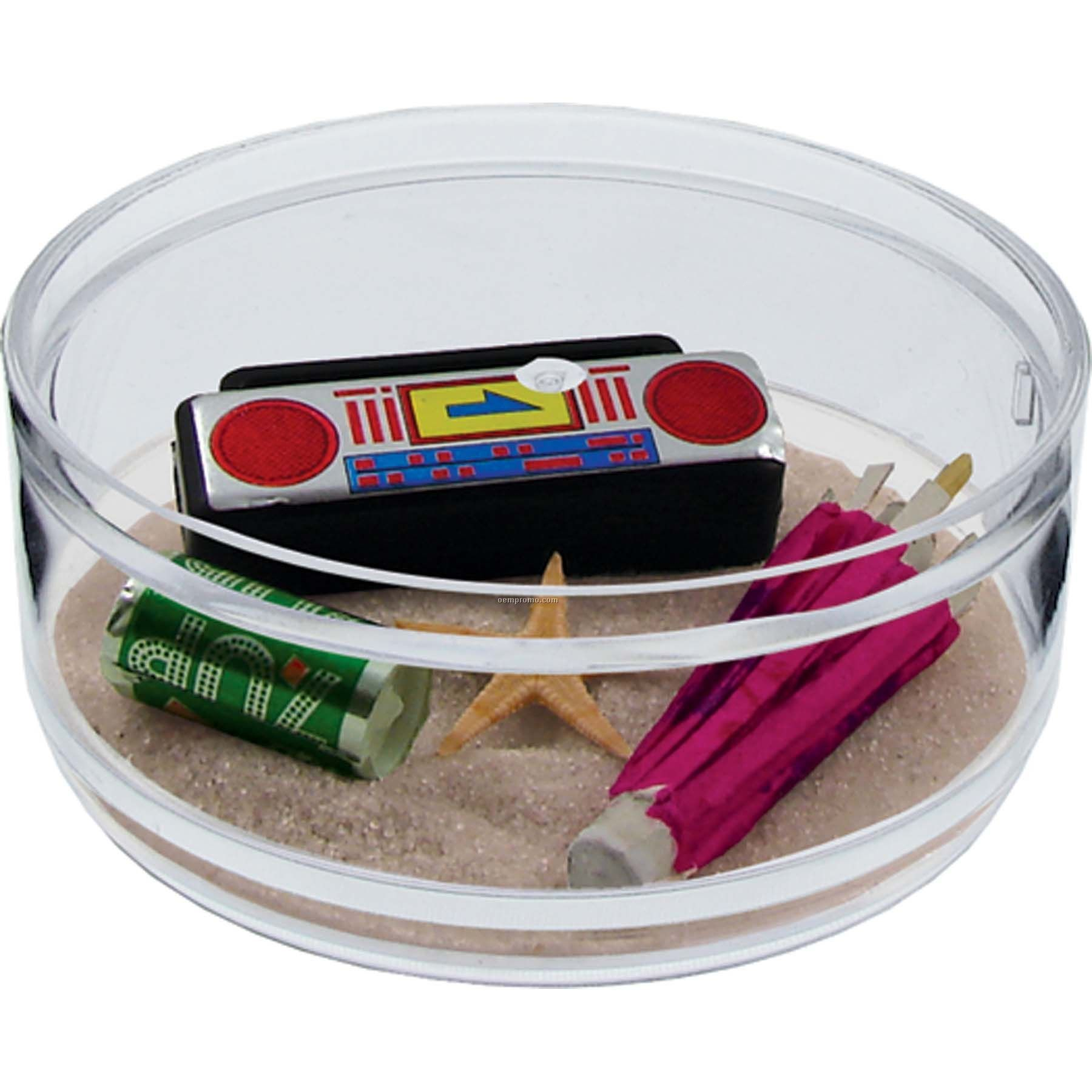 Beach Party Compartment Coaster Caddy