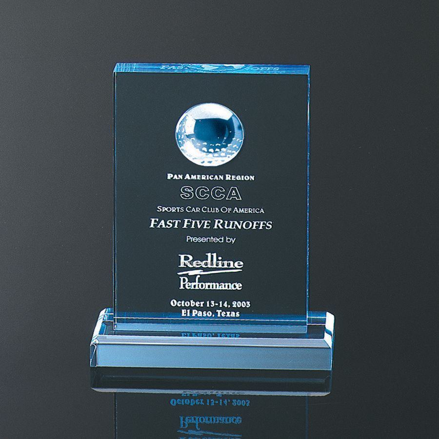 """Blue Golfer Award (7""""X5""""X2"""")"""