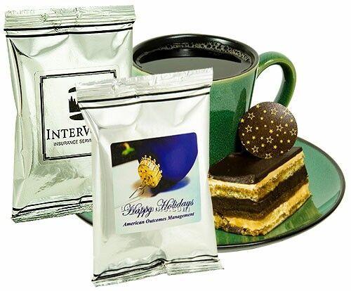 Full Pot Coffee - Mug Stuffer W/ Silver Foil Packaging (Printed Label)