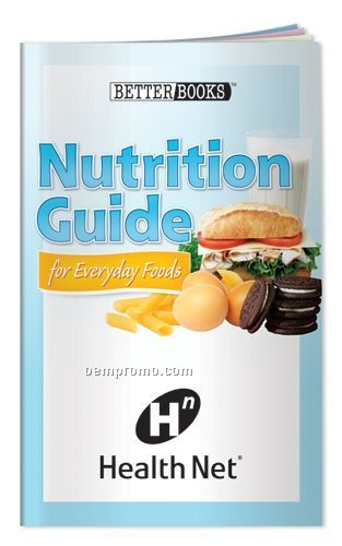 Nutrition Guide For Everyday Foods Book (36 Full Color Pages)