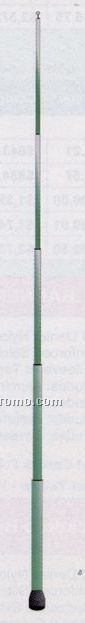 13' Fiberglass Poles W/ Ground Socket