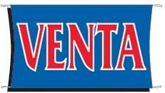 3'x5' Fluorescent Stock Banner - Venta