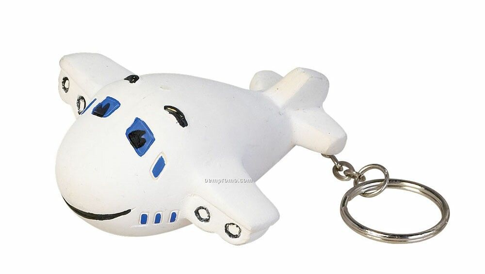 Airplane Key Chain Stress Toys