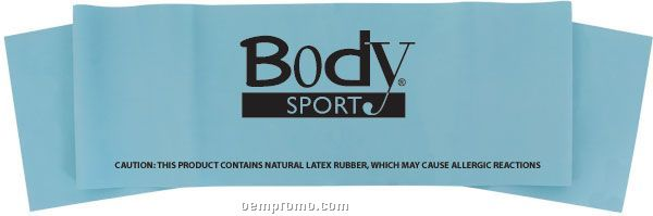 """Body Sport 4' X 6"""" Exercise Band, Heavy"""