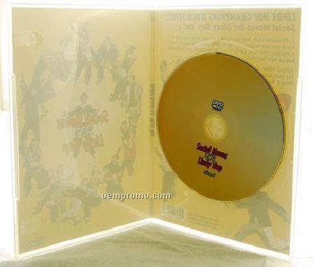 DVD Replication Retail In Clear Slim Amaray Case (DVD 9)