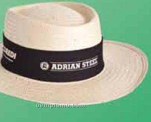 Golf Hat W/Brown Headband