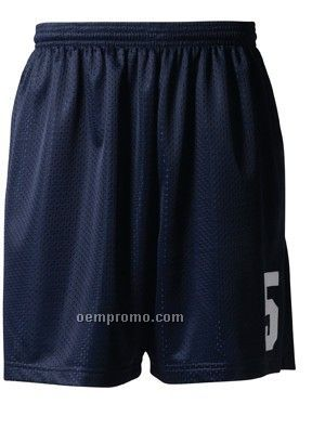 Nb5301 Lined Tricot Mesh Youth Performance Shorts 6""