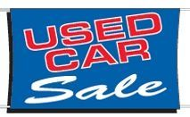 3'x5' Fluorescent Stock Banner - Used Car Sale
