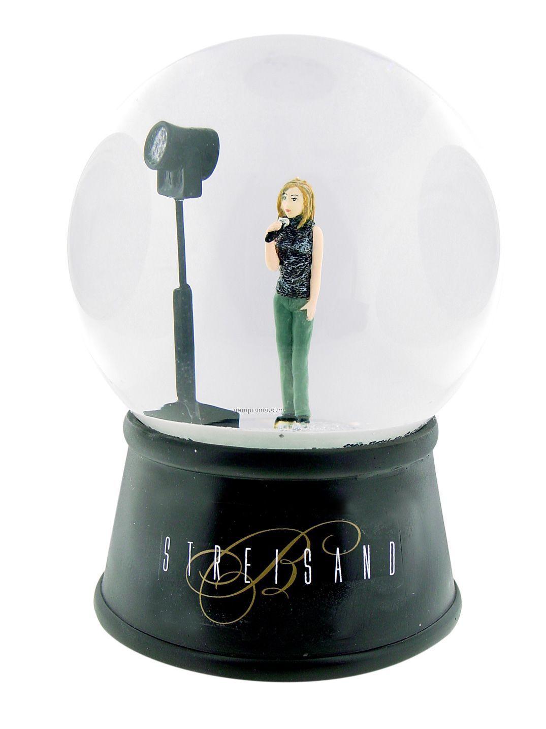 "4"" Custom Water Globe"