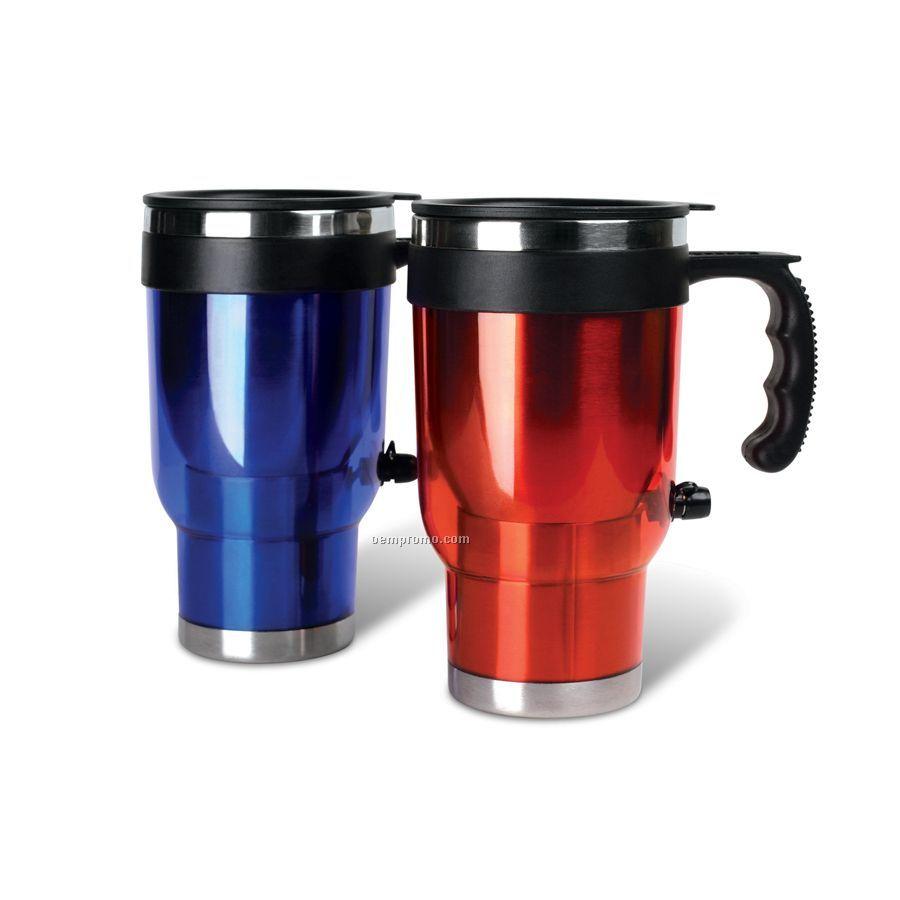 12 Volt Heated Travel Auto Mug 2 Pack