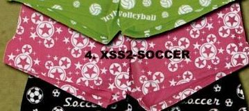 """Adult & Youth Stock Scatterprint Shorts W/ 6.5"""" Inseam - Soccer"""