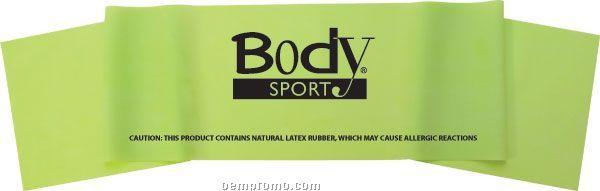 "Body Sport 5' X 6"" Exercise Band, Medium"