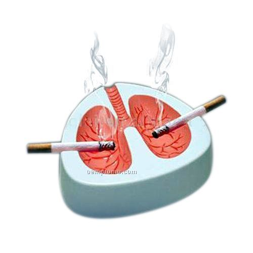 Lung Shape Ashtray