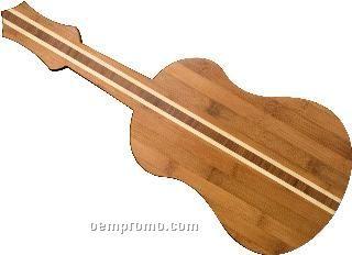 Bamboo Ukulele Cutting Board