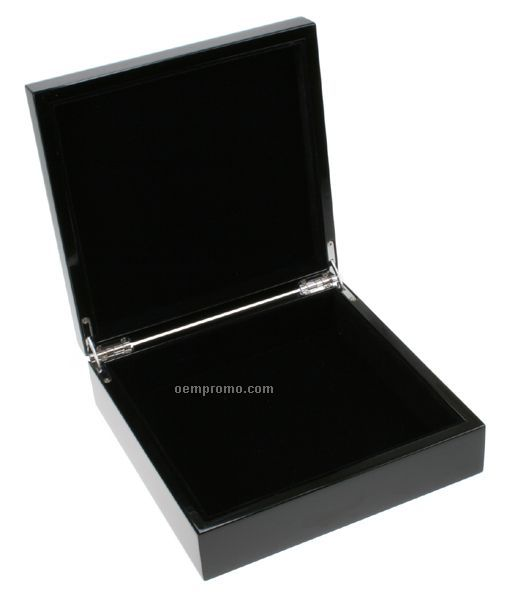 Black High Lacquer Finish Box
