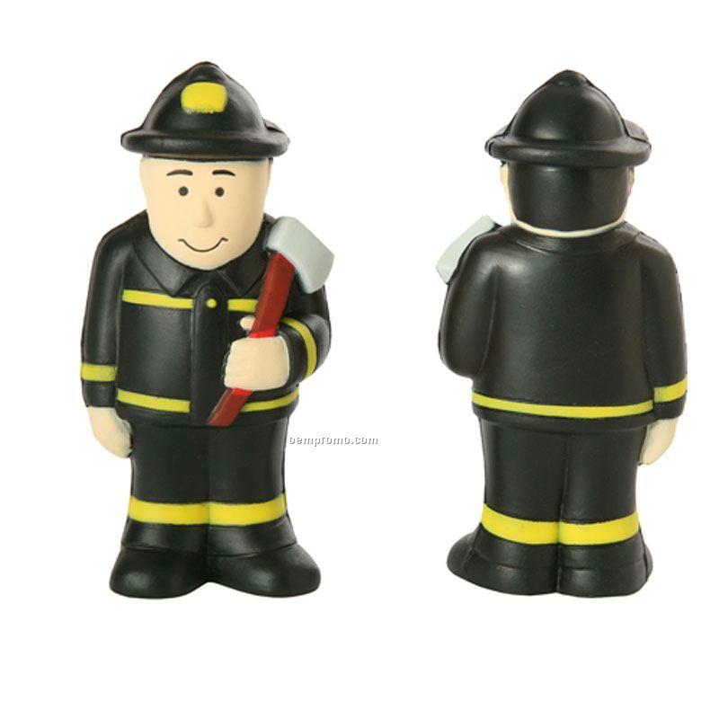 Fireman Occupation Stress Ball