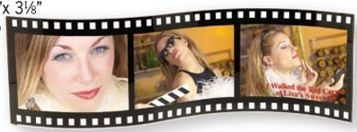 Movie Film Triple Frame (Printed)