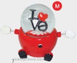 Valentine's Day Specialty Snow Globe