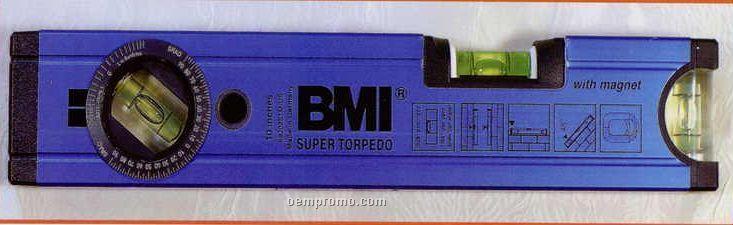 "10"" Super Torpedo Aluminum Alloy Bubble Level/ Magnetic"
