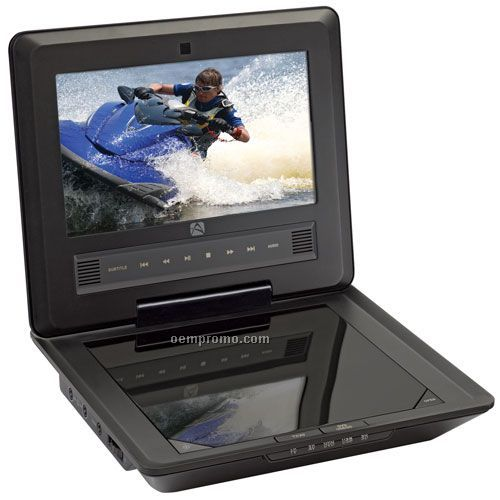 "D7104 7"" Portable DVD Player"