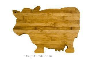 Cow Bamboo Cutting Board