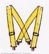 """Fluorescent Reflective Suspenders (50"""")"""