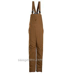 Brown Duck Insulated Bib Overall
